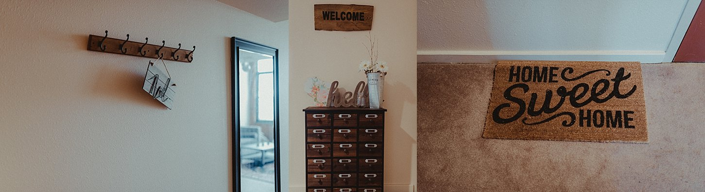 Apartment tour Green Bay Wisconsin Photographer Carlee Secor