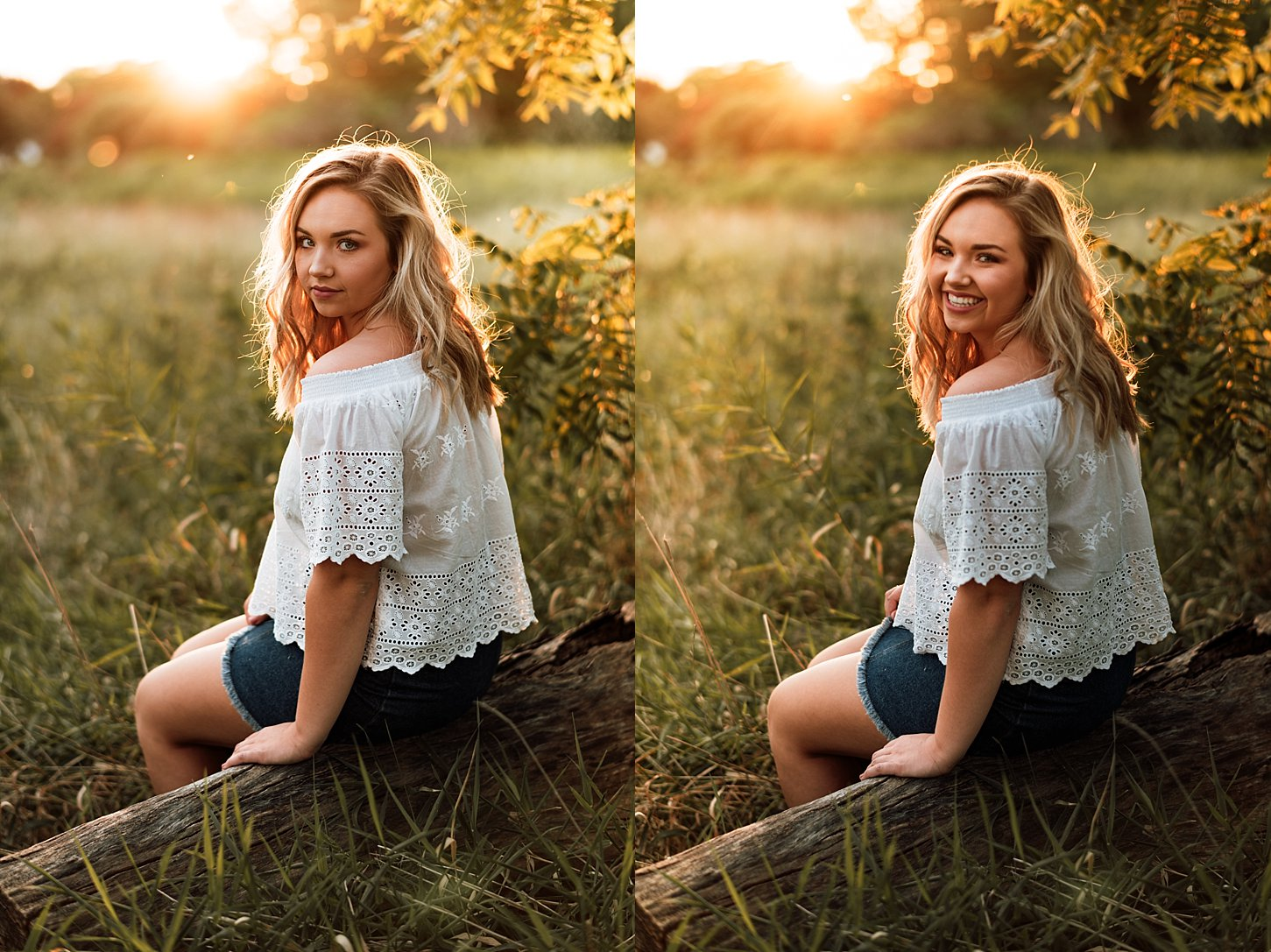 Senior pictures green bay wisconsin photographer carlee secor photography