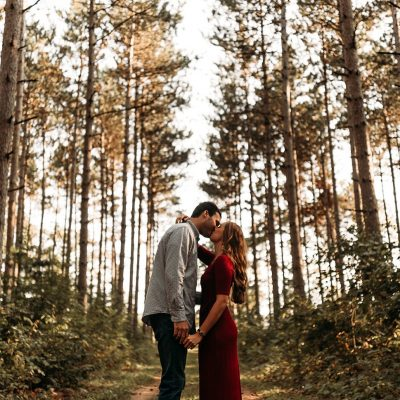 Hartman Creek State Park Engagement Session – Carlee Secor Photography Green Bay, Wisconsin