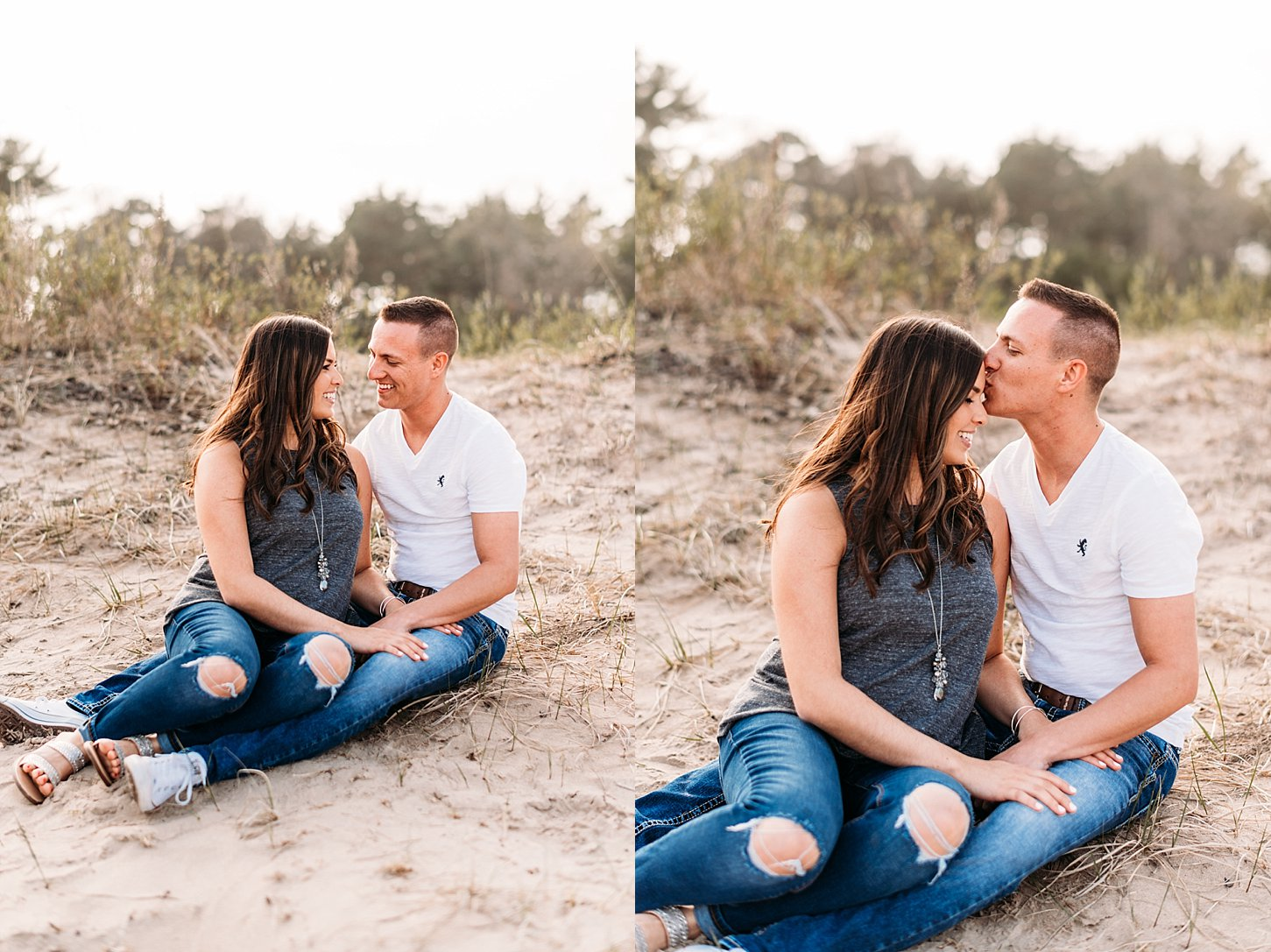 engagement session proposal green bay wisconsin photographer wedding