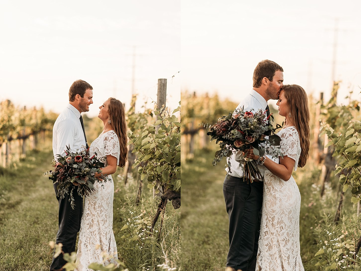 ledge stone winery carlee secor photography green bay wedding photographer wisconsin