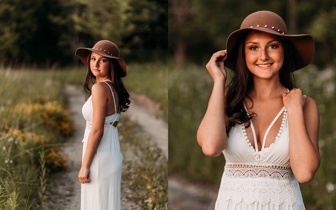 Bay Port High School Senior Portraits – Cathleen