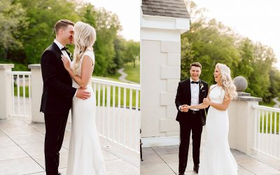 Modern Classic Oneida Country Club Wedding – Lindsay & Dakota