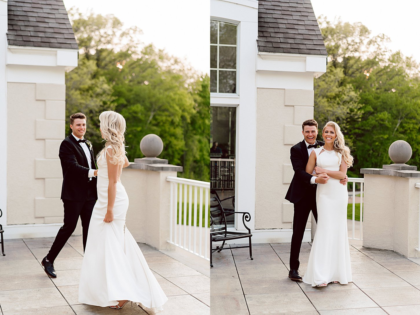 green bay wedding photographer carlee secor oneida country club