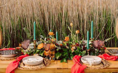 Vibrant Spring Inspired Wedding Shoot – Green Bay, Wisconsin