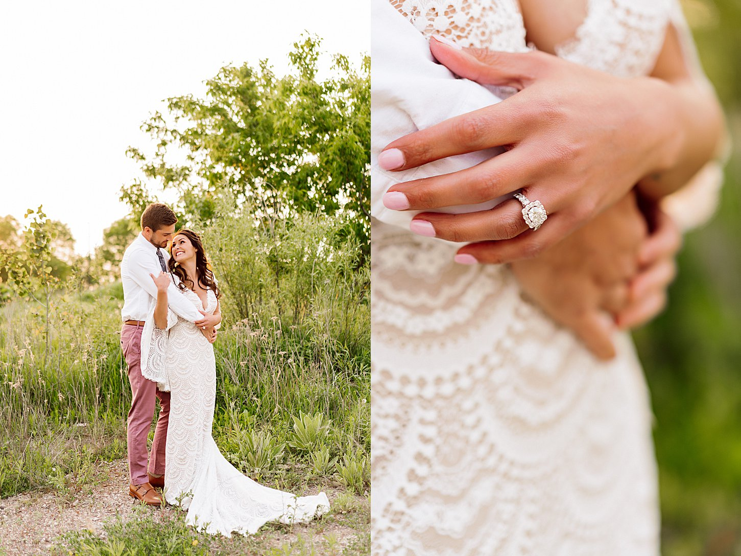 vibrant spring inspired wedding bold colors carlee secor photography