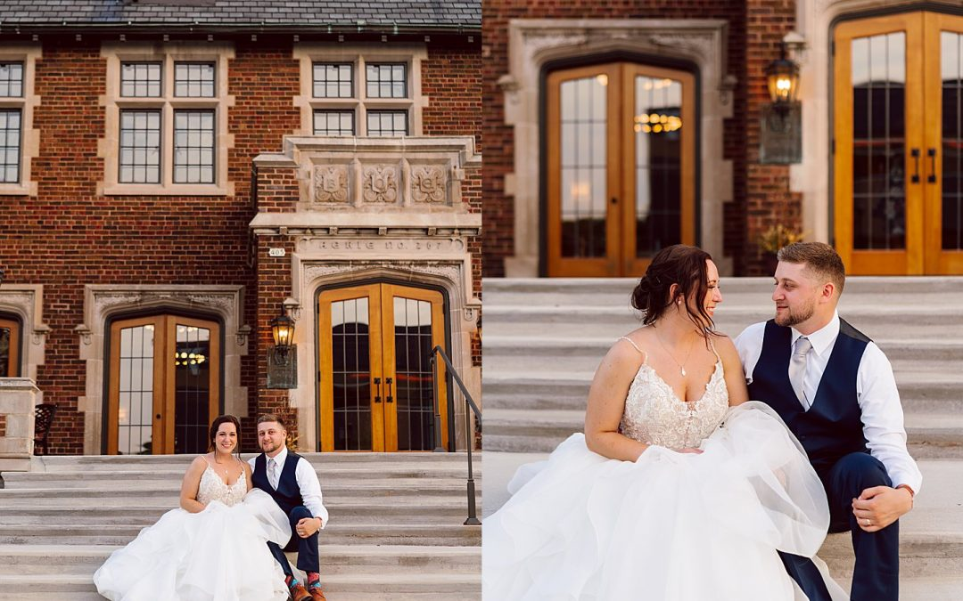 Classic Modern Summer Wedding – The Howard Oshkosh, Wisconsin