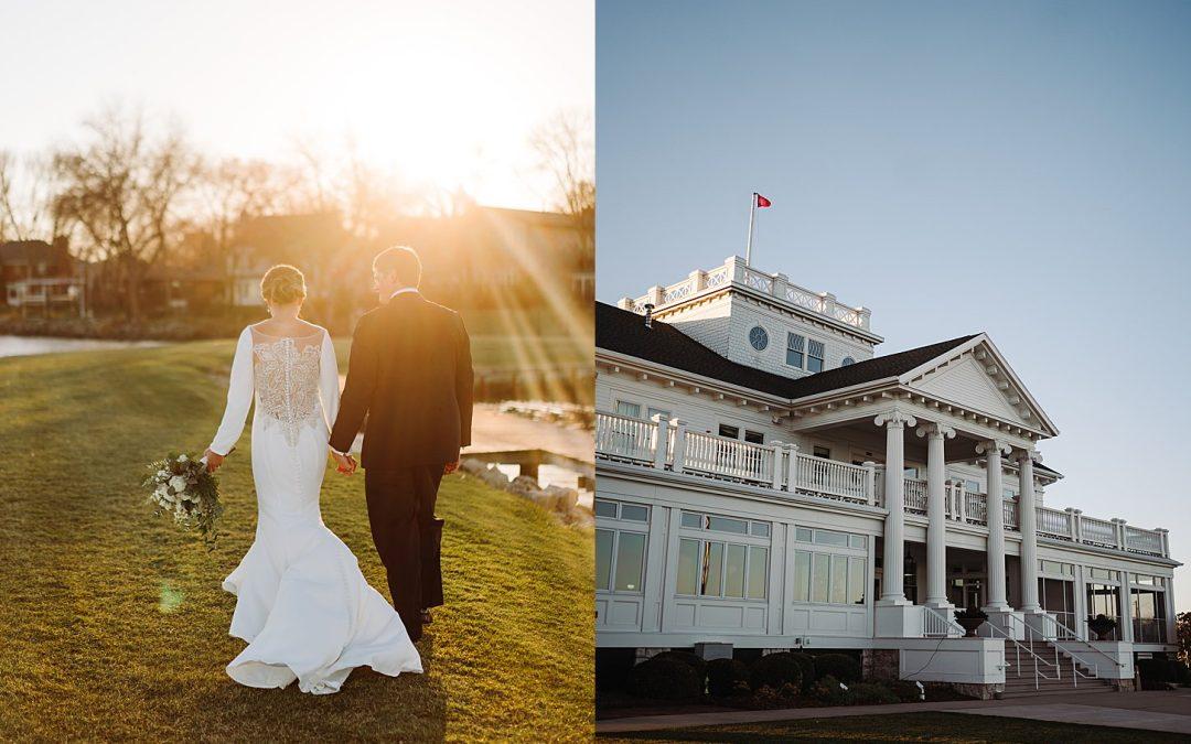 Intimate Fall Wedding – The Waters, Oshkosh WI