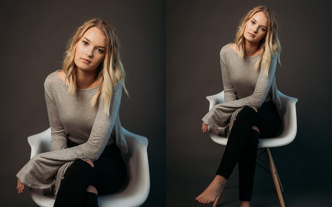 Editorial Studio Session, Kennedy Izzard – Carlee Secor Photography