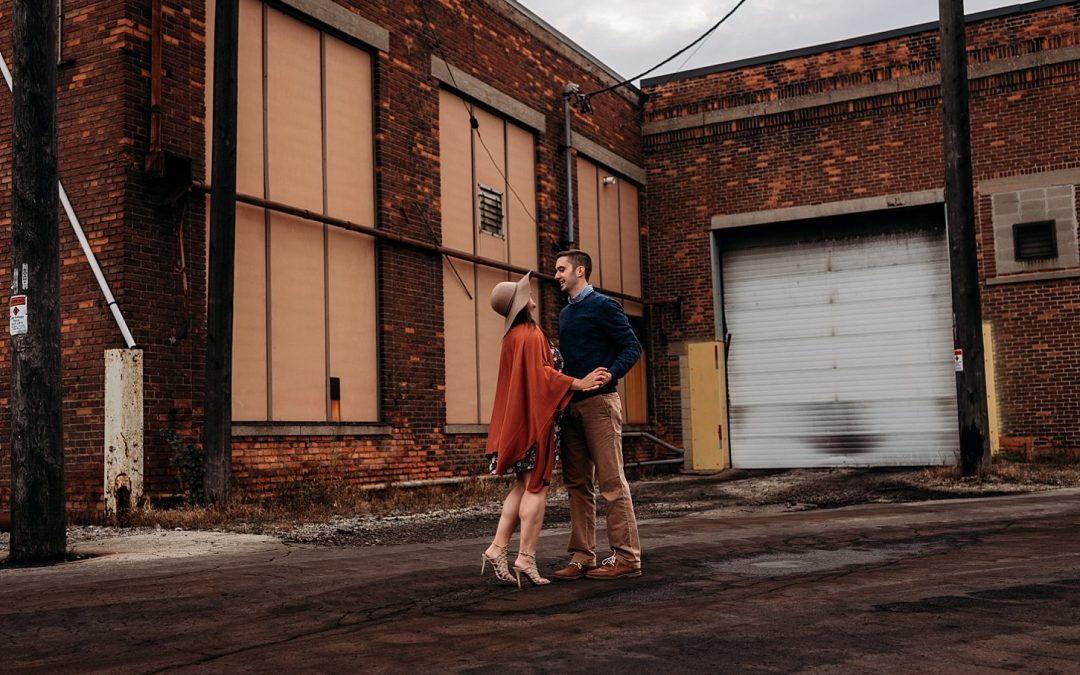 Engagement Session Downtown Green Bay, Catherine & Paul – Carlee Secor Photography